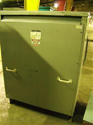 Image 300 KVA Transformer 2400-208Y/125 V, by MGM 329507