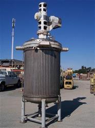 Image 500 Gallon C.E. HOWARD Reactor, Stainless Steel 329579