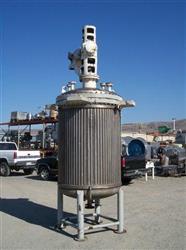 Image 500 Gallon C.E. HOWARD Reactor, Stainless Steel 329580