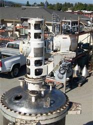 Image 500 Gallon C.E. HOWARD Reactor, Stainless Steel 329581