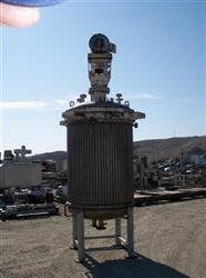Image 500 Gallon C.E. HOWARD Reactor, Stainless Steel 329584