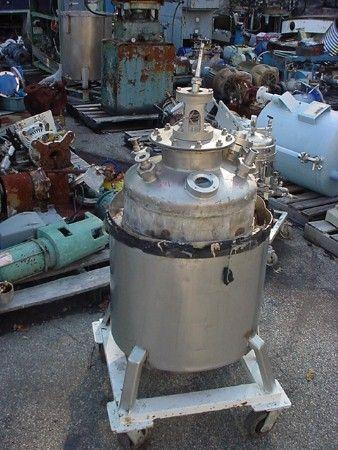 Image 25 Gallon Stainless Steel Reactor 329633