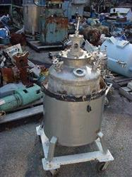 Image 25 Gallon Stainless Steel Jacketed Tank 329633