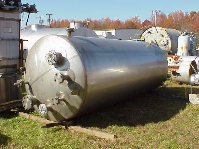 Image 2000 Gal MUELLER Jacketed Vessel, 40 PSI 329690