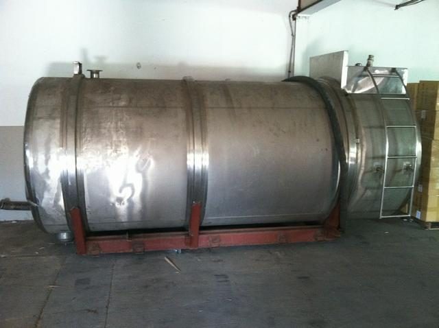 Image 2200 Gal Stainless Steel Tank 329694
