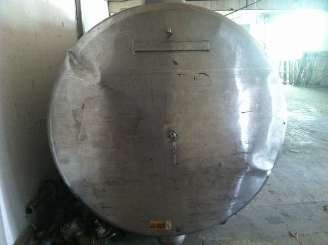 Image 2200 Gal Stainless Steel Tank 329695