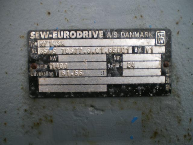 Image SEW-EURODRIVE RF143A Propel Mixer, 18kw 24RPM 380005