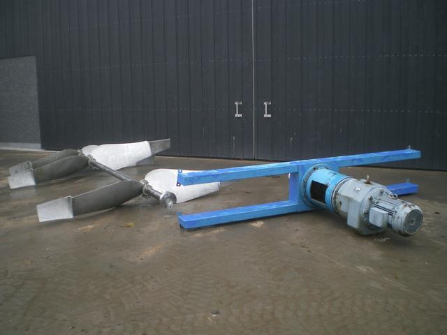 SEW-EURODRIVE RF143A Propel Mixer, 18kw 24RPM