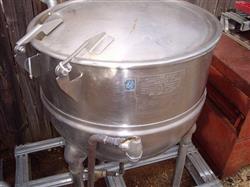 Image 30 Gallon GROEN Steam Kettle - Model FT-30-SP 330455