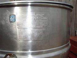 Image 30 Gallon GROEN Steam Kettle - Model FT-30-SP 330456