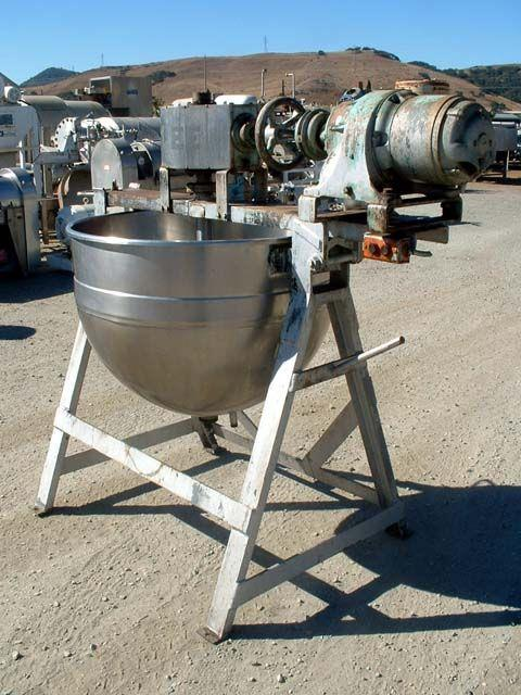 Image 80 Gallon LEE Double Motion Kettle 330713