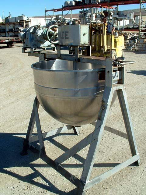 Image 80 Gallon LEE Double Motion Kettle 330714