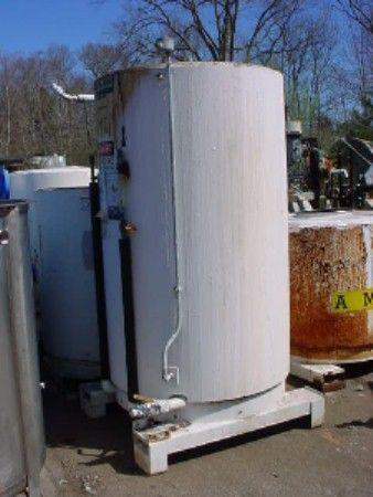 450 Gallon FABRICATED METALS Stainless Steel Jacketed Tote Tank