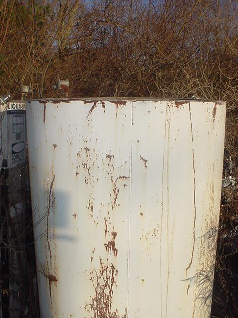 Image 450 Gallon FABRICATED METALS Stainless Steel Jacketed Tote Tank 746196