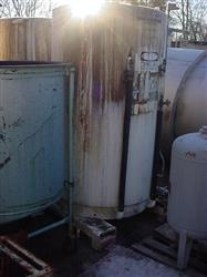 Image 450 Gallon FABRICATED METALS Stainless Steel Tote Tank 746190