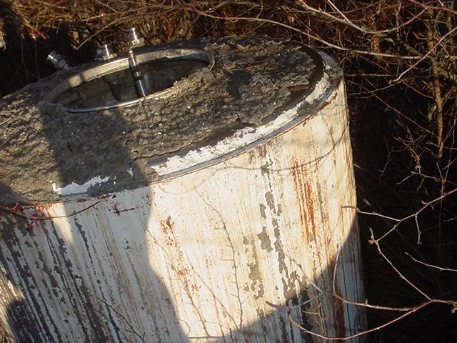 Image 450 Gallon FABRICATED METALS Stainless Steel Tote Tank 746193