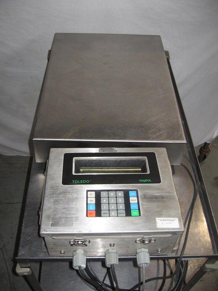 "Image TOLEDO Scale 23.5 x 17.5"" Model 1997 331111"