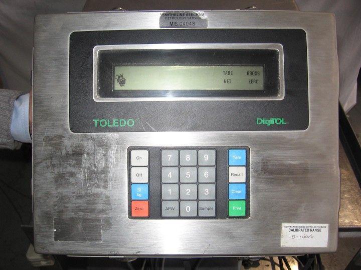 "Image TOLEDO Scale 23.5 x 17.5"" Model 1997 331112"