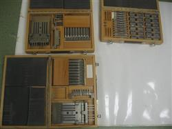 115518 - Complete Set of BOSCH 1500 Size 3 Change Parts