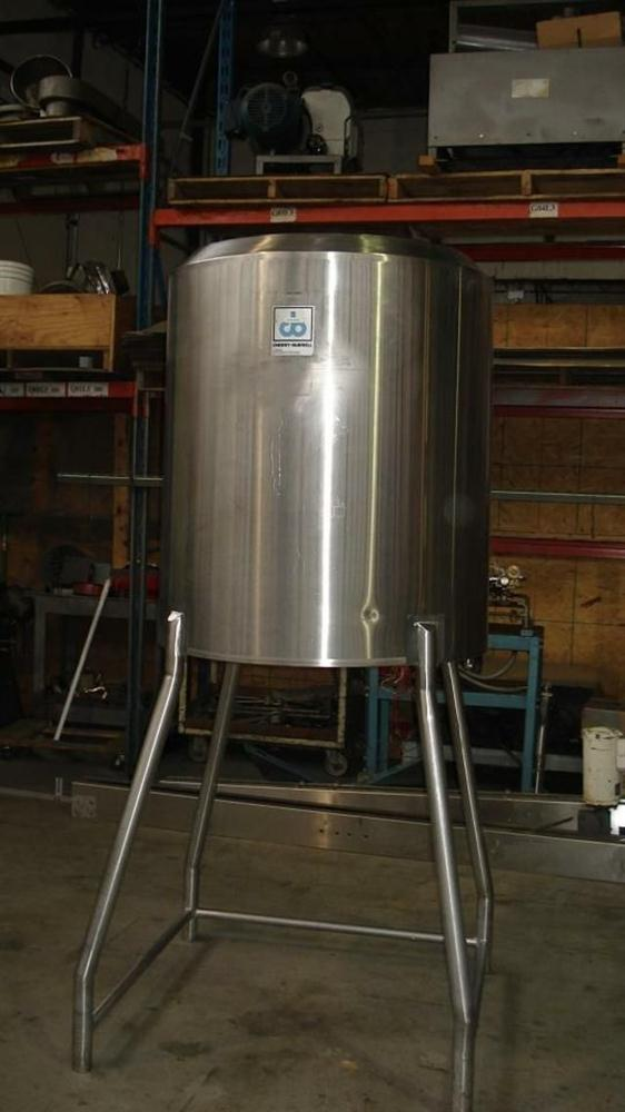 Image 250 Gallon CHERRY BURRELL Jacketed Tank 331144