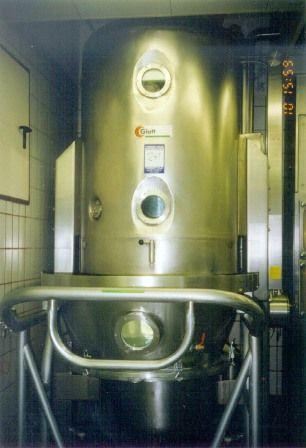 GLATT GVT400 Vacuum Dryer