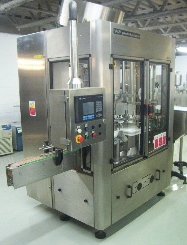 BORGO High Speed Rotary Capper Model V8-T