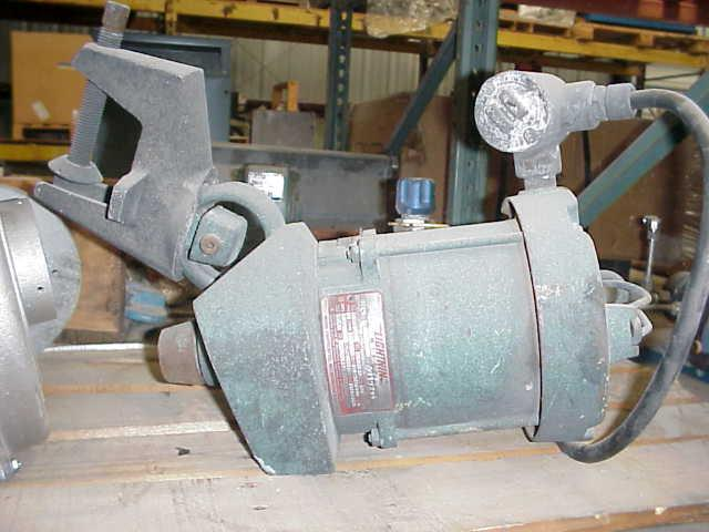 .25 HP LIGHTNIN Clamp-On Mixer, Explosion Proof