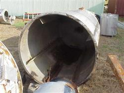 Image 675 Gallon Stainless Steel Tank with Dish Bottom 331517