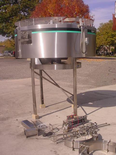 Image HOPPMANN CORP Model FT-50 Stainless Steel Centrifugal Feeder 331616