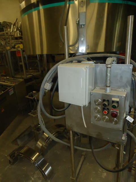 Image HOPPMANN CORP Model FT-50 Stainless Steel Centrifugal Feeder 331618