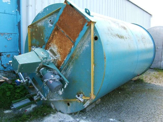 Image 5000 Gallon Vertical Tank w/ Lightnin Mixer 331649
