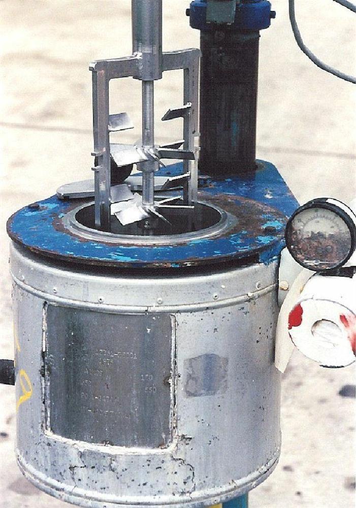 Image .5  Gallon B AND G  Scrape Agitated Vessel 331755