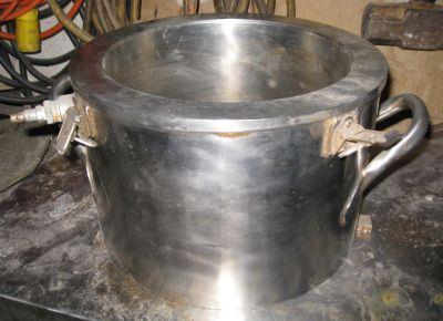 2 Gal. ROSS Jacketed S/S Mixer Change Can