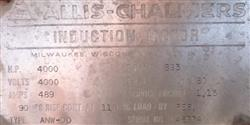 Image 4000 hp ALLIS CHALMERS Electric Motor 331995