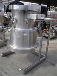 Image 125 Liter GLATT Top Spray Bowl for GPCG30 332039
