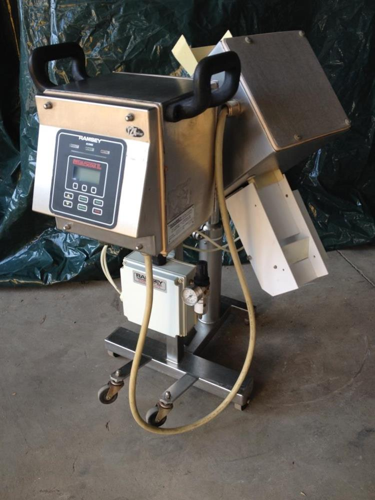 RAMSEY Metal Scout IIe Inclined Metal Detector