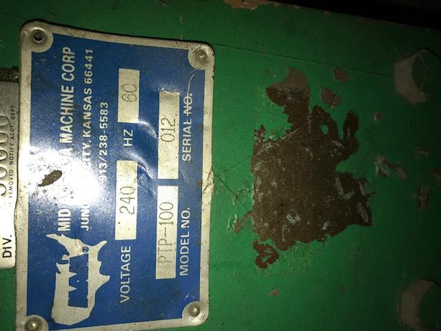Image MID AMERICA PTP-100 Heat Sealer 960371
