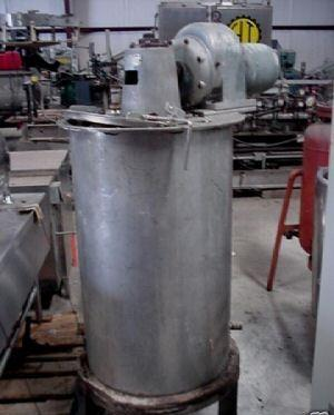 75 Gallon Stainless Mix Tank Dual Motion Mixer