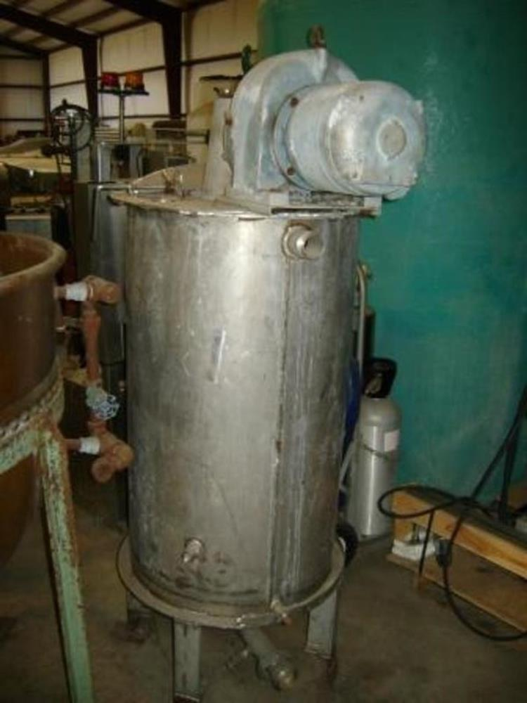 Image 75 Gallon Stainless Mix Tank Dual Motion Mixer 1458181