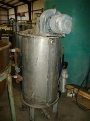 Image 75 Gallon Stainless Mix Tank Dual Motion Mixer 1458181