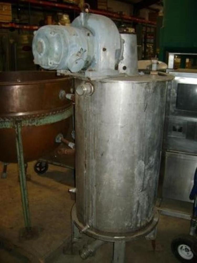 Image 75 Gallon Stainless Mix Tank Dual Motion Mixer 1458182