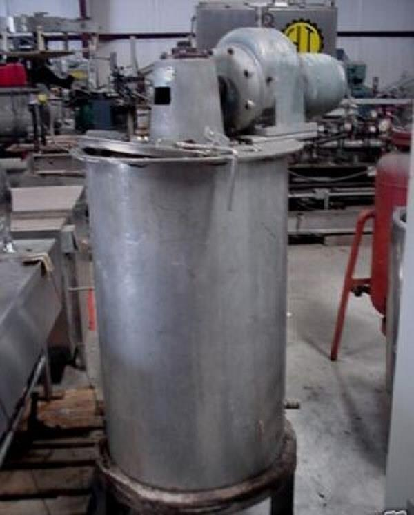 Image 75 Gallon Stainless Mix Tank Dual Motion Mixer 1458173