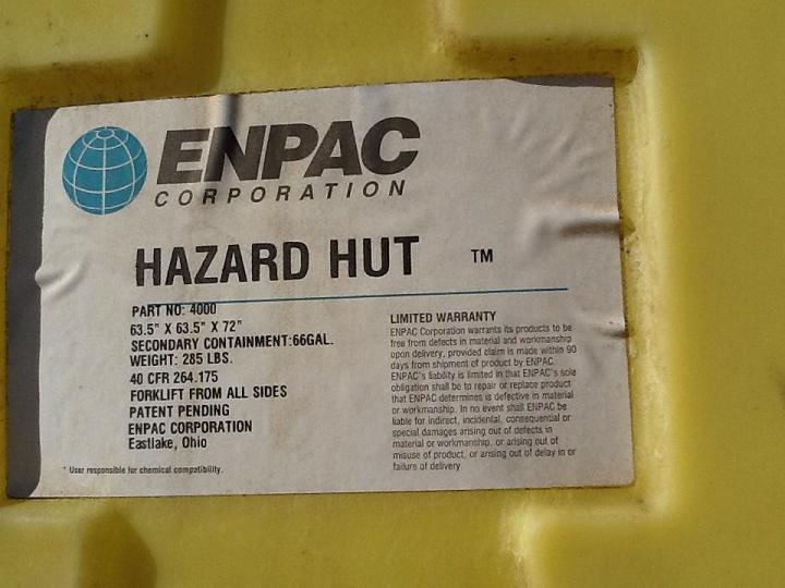 Image ENPAC CORP Hazard Hut 332440