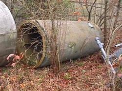 Image 360 Gallon FIBERGLASS TANK with Dished Bottom 332478