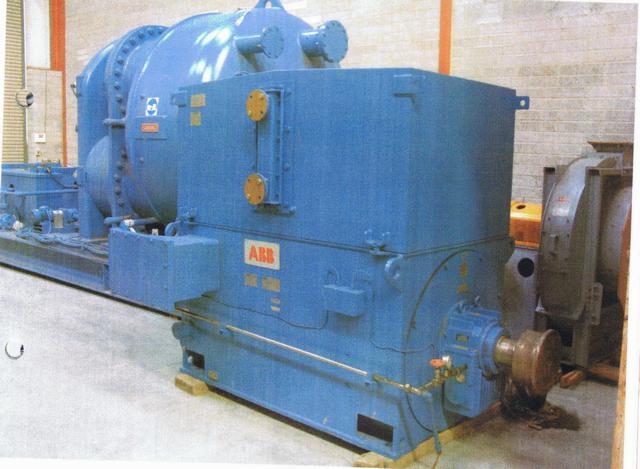 1800kw INGERSOLL RAND Air Compressor, 10000 cfm