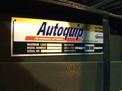 Image AUTOQUIP 2,000 lb. Air Bag Platform Lift 332557