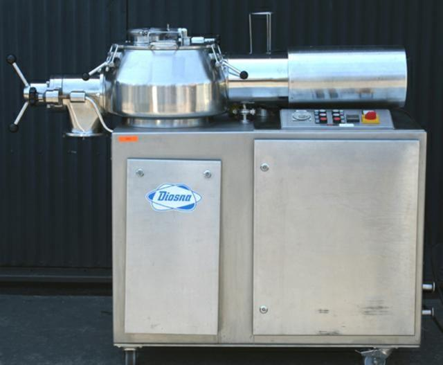 20 Liter DIOSNA P-25 High Shear Granulator/Mixer