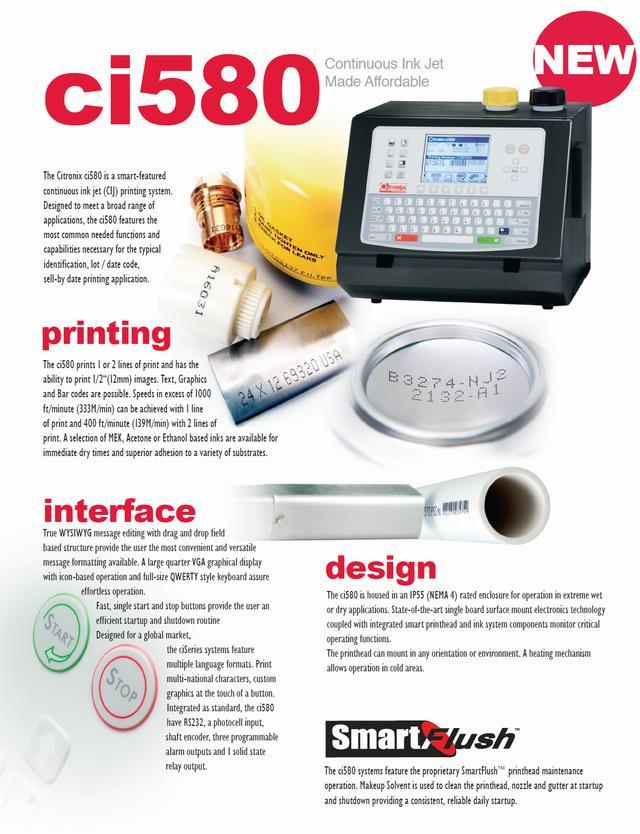 Image CITRONIX cI580 Printer 332668