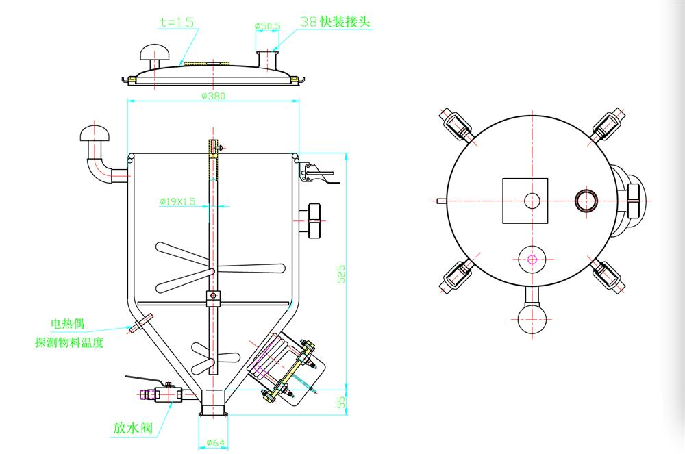 Image Piston Cream Filler, 25-125ml, Unused 960383