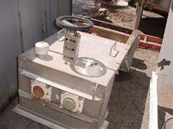 119059 - 2.5 cf ASHBROOK Stainless Steel Plow Blender - Pug Mill